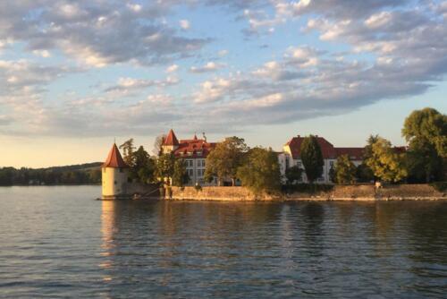 Lindau Insel vom See